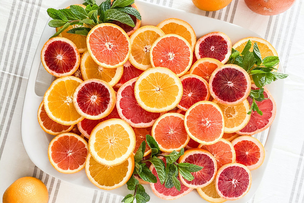 citrus fruits full of vitamin C