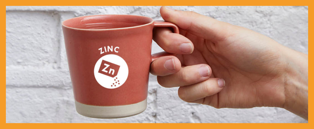 mug of immune-healthy zinc