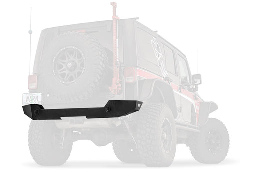 WARN ELITE SERIES REAR BUMPER FOR JEEP JK WRANGLER (89525) - Wreckless Motorsports