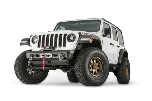 WARN ELITE STUBBY BUMPER FOR JL & JT (101325) - Wreckless Motorsports