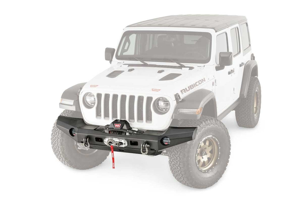 WARN ELITE FULL WIDTH BUMPER FOR JL & JT (101335) - Wreckless Motorsports