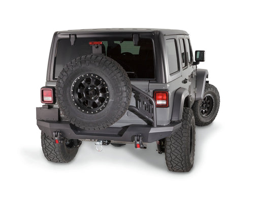 WARN ELITE REAR TIRE CARRIER (102255) - Wreckless Motorsports
