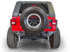 DV8 Off-Road Jeep JL Easy Open Hinge Replacement Spare Tire Carrier (TCJL-03) - Wreckless Motorsports