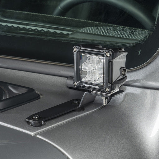 Rugged Ridge Cowl Cube Mount, Outside Mount; 18-19 JL - Wreckless Motorsports