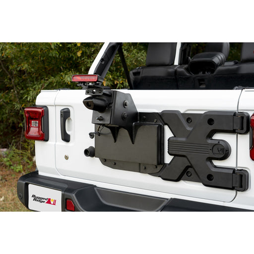 Rugged Ridge Spartacus HD Tire Carrier, Kit, 18-19 Jeep Wrangler JL (11546.55) - Wreckless Motorsports