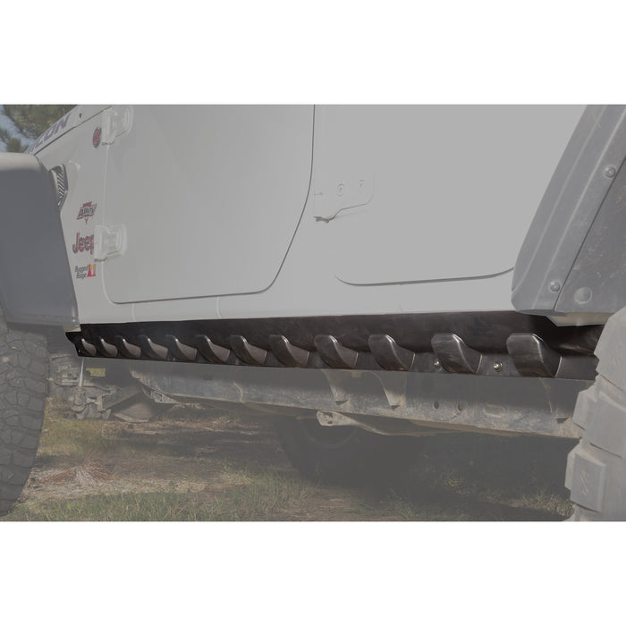 Rugged Ridge Rocker Guard, Body Armor, 18-19 Jeep Wrangler JL, 4 Door - Wreckless Motorsports