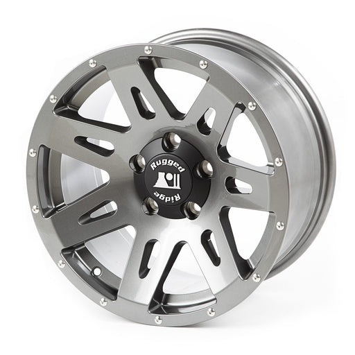 Rugged Ridge XHD Wheel, 17x8.5, Gun Metal; 07-19 JK/JL - Wreckless Motorsports