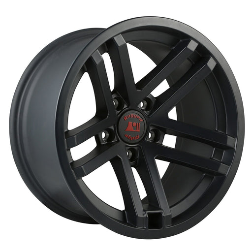 Rugged Ridge Jesse Spade Wheel, 17X9, Black Satin; 07-20 JK/JL/JT - Wreckless Motorsports