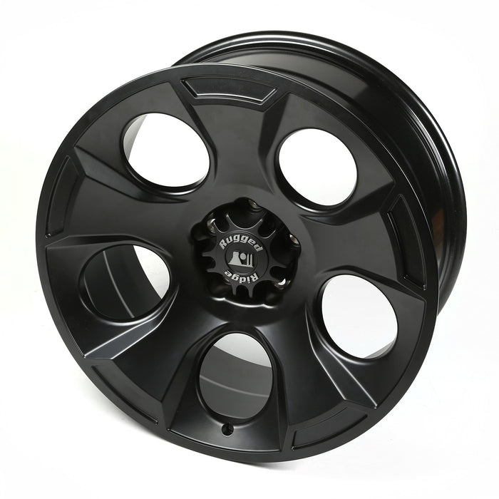Rugged Ridge Drakon Wheel, 20X9, BLK Satin; 07-20 Jeep JK/JL/JT - Wreckless Motorsports