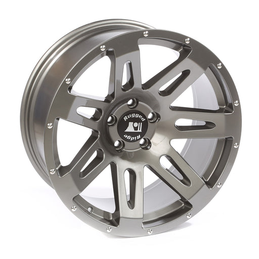 Rugged Ridge XHD Wheel, Gun Metal, 20-Inch x 9 Inch; JK/JL/JT - Wreckless Motorsports