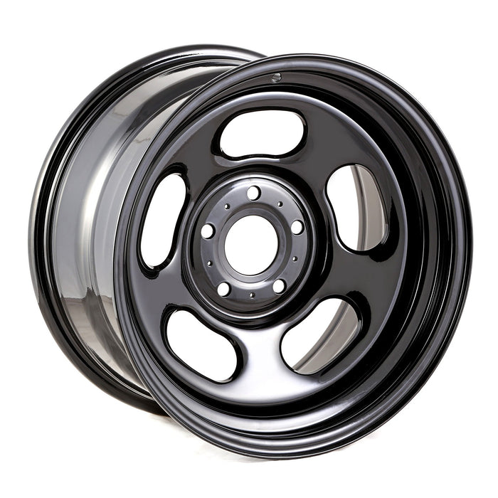 Rugged Ridge Black Steel Wheel, 17x9; 07-20 Jeep JK/JL/JT - Wreckless Motorsports