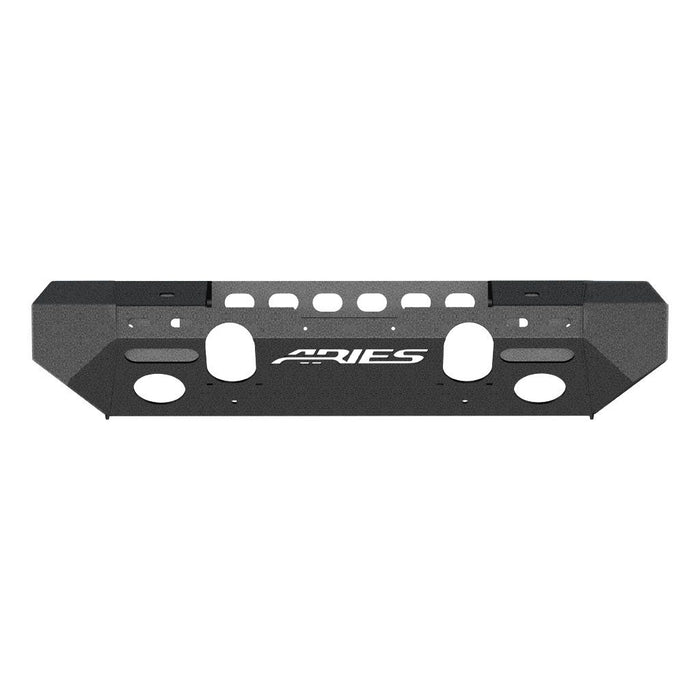 ARIES TrailChaser Jeep Wrangler JL Front Bumper (Option 6) (2082070) - Wreckless Motorsports