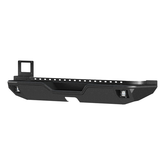 ARIES TrailChaser Jeep Wrangler JL Rear Bumper with LED Lights (2082081) - Wreckless Motorsports