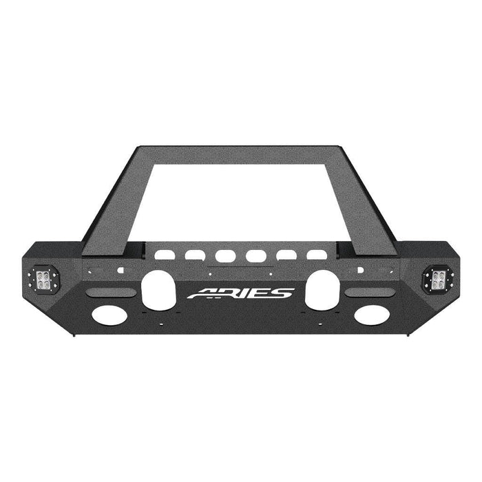 ARIES TrailChaser Jeep Wrangler JL Front Bumper (Option 1) (2082085) - Wreckless Motorsports
