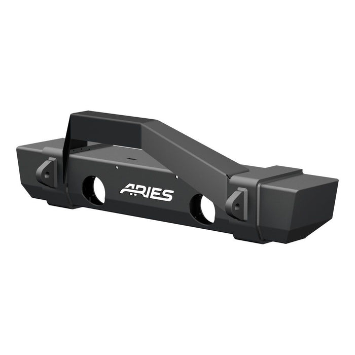 ARIES TrailCrusher Jeep JK Front Bumper with Brush Guard (2186000) - Wreckless Motorsports