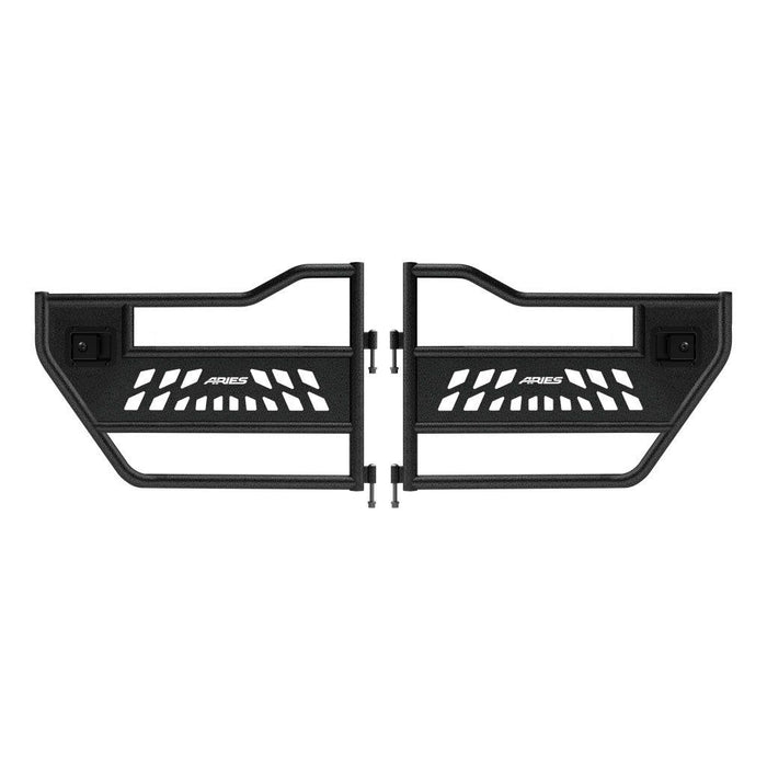 ARIES Jeep Wrangler JK Rear Tube Doors (25009) - Wreckless Motorsports