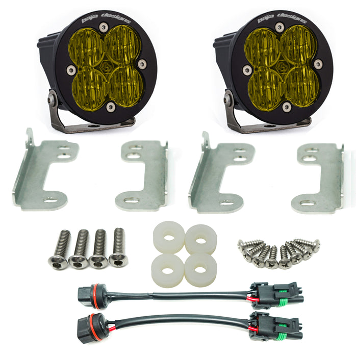 Baja Designs Jeep JL, Sahara, Squadron SAE Fog Pocket Kits