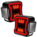 "Oracle Lighting Jeep Wrangler JL ""Black Series"" LED Tail Lights (5852-504) - Wreckless Motorsports"