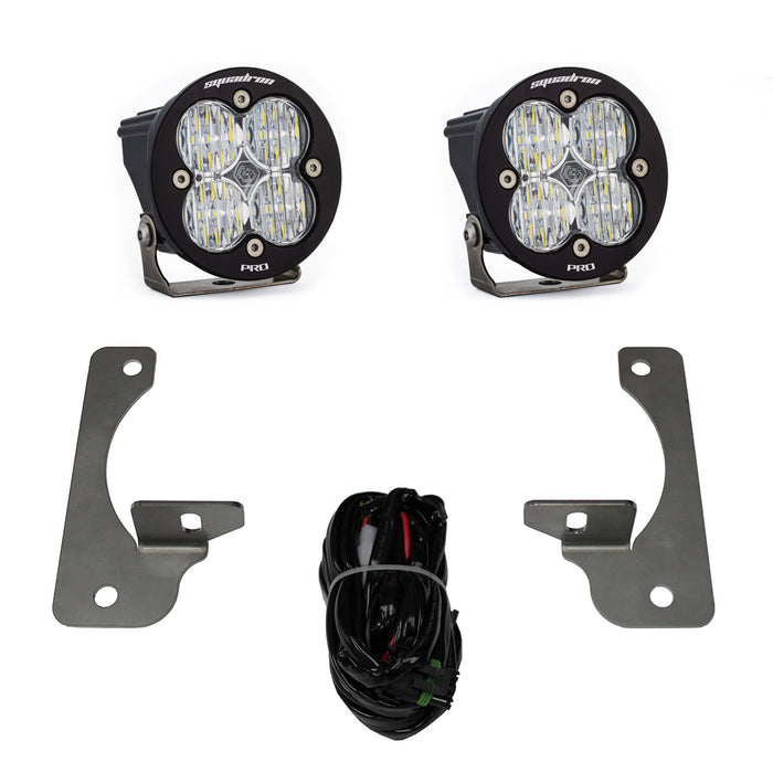 Baja Designs LED Light Kit Jeep JK Rubicon X | 10th Anniversary | Hard Rock Squadron-R Pro