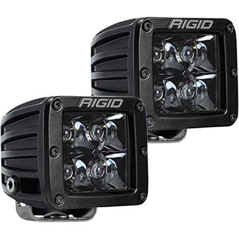 Rigid Industries D-Series Pro Midnight Spot Lights | PAIR (202213BLK) - Wreckless Motorsports