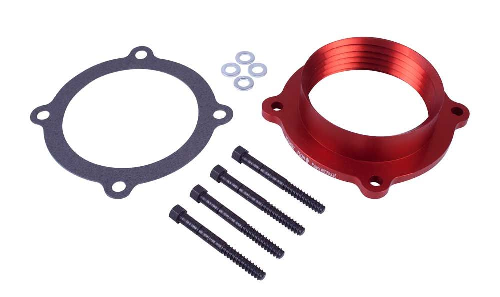AIRAID Throttle Body Spacer Jeep Wrangler 3.6L V6 (300-637) - Wreckless Motorsports