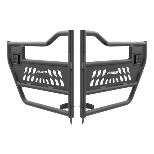ARIES Jeep Wrangler JL Gladiator Front Tube Doors (1500200) - Wreckless Motorsports