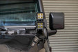 DV8 Off-Road Jeep JL A Pillar Pod LED Light Mount 18-Present Wrangler JL 2/4 Door (LBJL-02) - Wreckless Motorsports