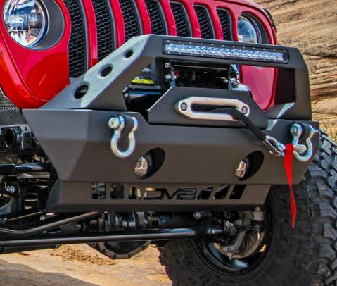 DV8 Off-Road Jeep JL Front Skid Plate/Sway Bar Disconect Skid (SPJL-01) - Wreckless Motorsports