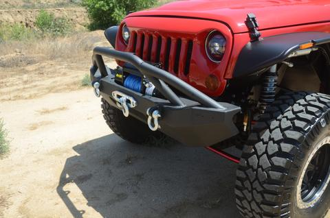 DV8 Off-Road FS-14 Hammer Forged Front Bumper (FBSHTB-14) - Wreckless Motorsports