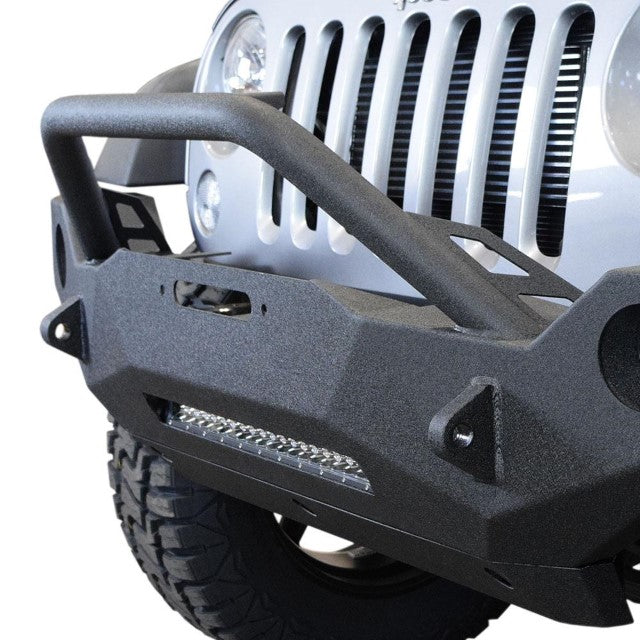 DV8 Off-Road FS-19 Hammer Forged Front Bumper (FBSHTB-19) - Wreckless Motorsports