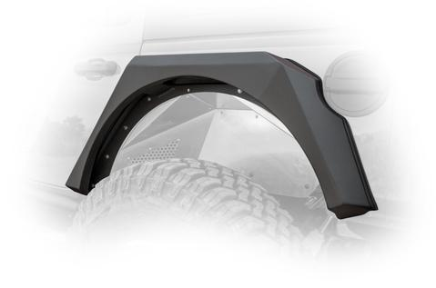 DV8 Off-Road JL Armor Fenders (FDJL-01) - Wreckless Motorsports