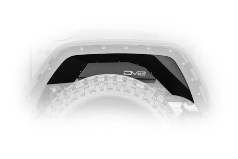 DV8 Off-Road Jeep Gladiator Rear Inner Fenders Black (INFEND-04RB) - Wreckless Motorsports