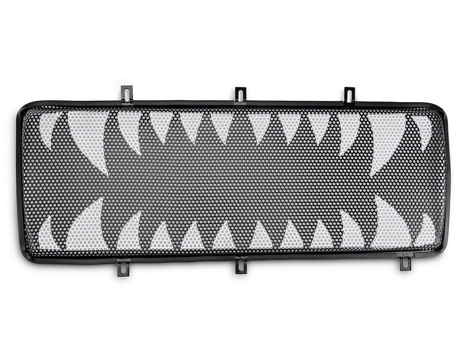 Rugged Ridge Spartan Grille Insert, Land Shark; 07-18 Jeep Wrangler JK (12034.24) - Wreckless Motorsports