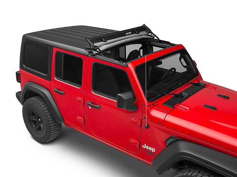 Bestop SUNRIDER® Hardtop For 2018 - Current  JL 2DR & Unlimited & 2020 Jeep Gladiator (52452-17) - Wreckless Motorsports