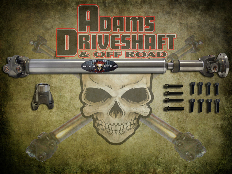 ADAMS DRIVESHAFT JL REAR 1310 CV DRIVESHAFT SAHARA - SPORT 2 or 4 DOOR [EXTREME DUTY SERIES] - Wreckless Motorsports