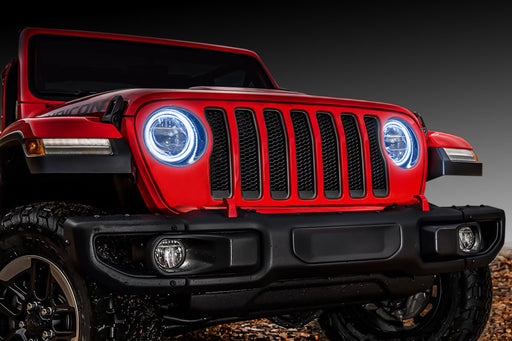 Oracle Lighting Jeep JL Oracle LED Headlight Surface Mount Halo Kit - Wreckless Motorsports
