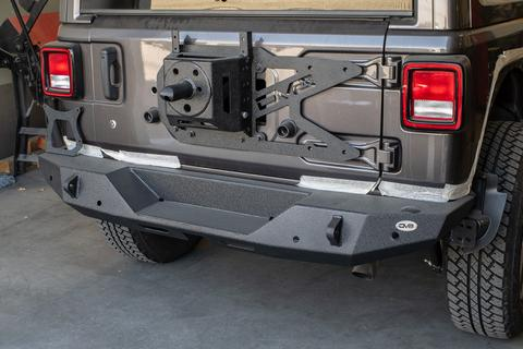 DV8 Off-Road Jeep JL Tailgate Mounted Tire Carrier (TCJL-01) - Wreckless Motorsports