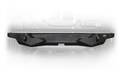 DV8 Off-Road Jeep JL High Clearance Rear Bumper 18-Preset Wrangler JL (RBJL-07) - Wreckless Motorsports