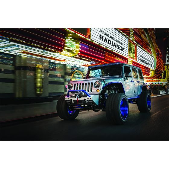 "Rigid Industries Radiance Plus Series 50"" Multi-Color LED Light Bars - Wreckless Motorsports"