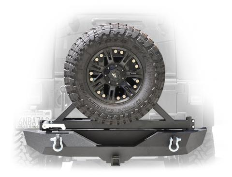 DV8 Off-Road RS-1BR Rear Bumper & Tire Carrier (RBSTTB-01B) - Wreckless Motorsports