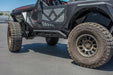 Dv8 Off-Road Jeep JL 2 Door Tubular Rock Slider With Plated End Caps (SRJL-23) - Wreckless Motorsports