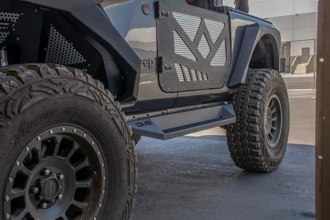 DV8 Off-Road Jeep JL 2 Door Boxed Slider/Step (SRJL-24) - Wreckless Motorsports