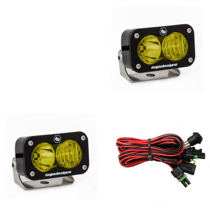 Baja Designs S2 Pro, Pair Driving/Combo, LED | Amber (487813)