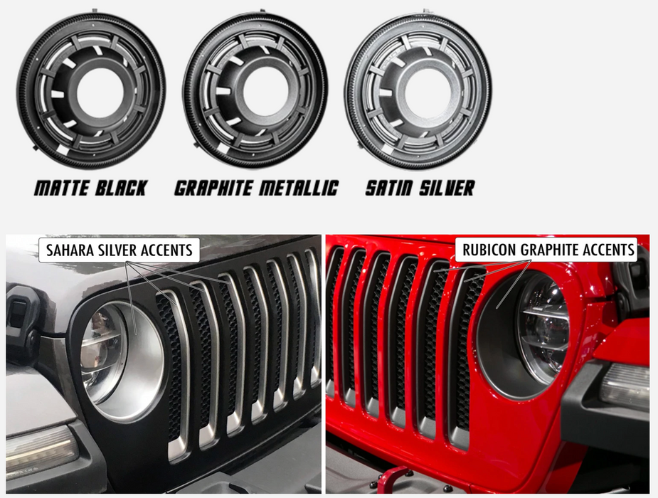 "Oracle Lighting 5839-504 Oculus 9"" Bi-LED Projector Headlights 