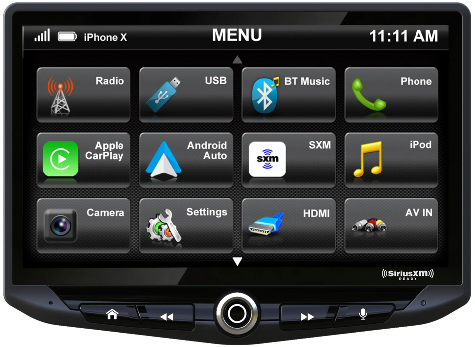 "Stinger HEIGH10 10"" Floating Multi-Media Display System with Apple CarPlay and Android Auto"