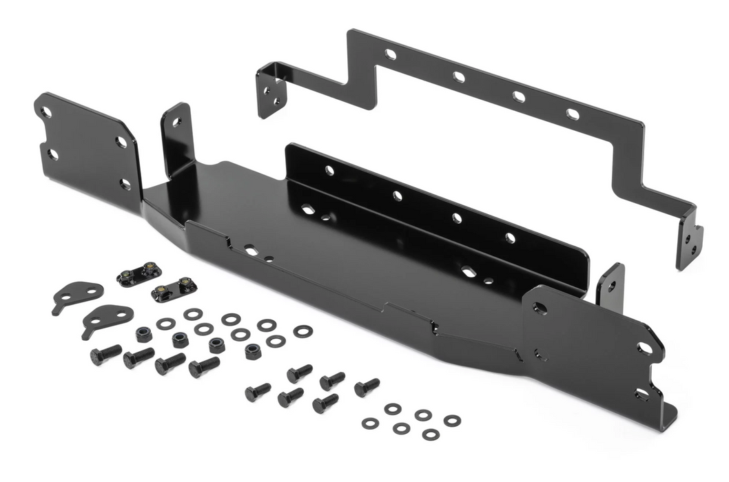 Rugged Ridge 11543.16 Winch Mount Plate for 18-20 Jeep Wrangler JL - Wreckless Motorsports