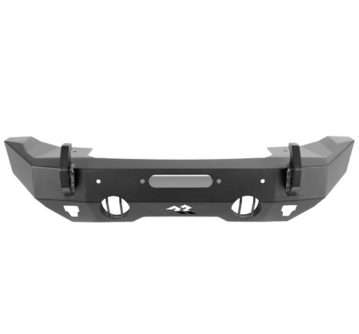 Rugged Ridge HD Bumper, Stubby, Front; 07-18 JK, 18-19 JL, 2020 JT (11540.32) - Wreckless Motorsports