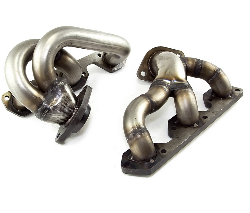 Rugged Ridge Stainless Steel Header Set; 07-11 Wrangler, 3.8L (17650.53) - Wreckless Motorsports