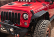 Rugged Ridge Steel Tube Fender Flares; Front; 07-18 Wrangler JK (11615.46) - Wreckless Motorsports