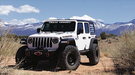Road Armor Stealth Front Winch Bumper Competition Cut - Texture Black WARN ZEON 2007-2020 JEEP JL (5180F0B) - Wreckless Motorsports
